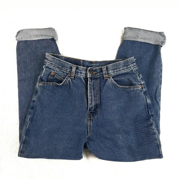2004 Levi's Orange Tab Mom High Waist Jeans Sz 10